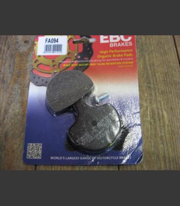 Brakepads front 84-99 bt, xl, L88-11 springer