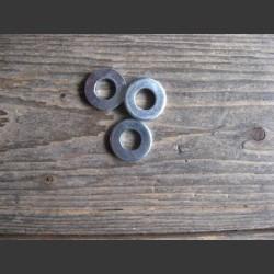 Flatwashers 1/4 zinc