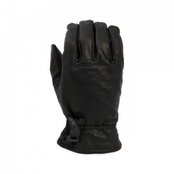 Leather gloves black XL