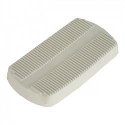 Brakepedal pad white