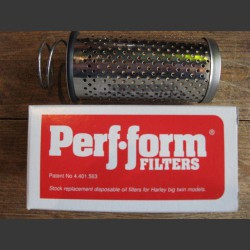 PERF-FORM DROP-IN OIL FILTER