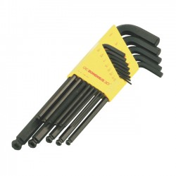 ALLEN/BALL - WRENCH SET. USA SIZES