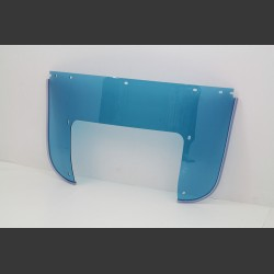 BEADED LOWER WINDSHIELD BLUE