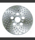 BRAKE ROTOR STAINLESS DRILLED. 10 INCH