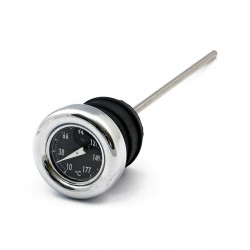 OIL TANK DIPSTICK WITH TEMP. GAUGE BLACK
