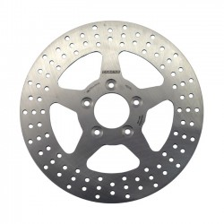 SOLID BRAKE ROTOR, FRONT L&R