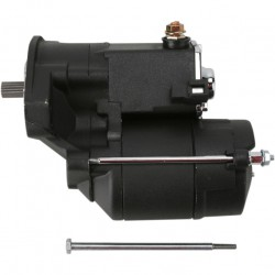Black High-Performance Starter Motor