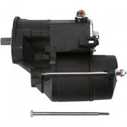 Black High-Performance Starter Motor