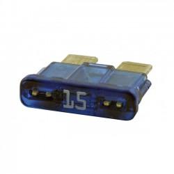 FUSE, 15 AMP (BLUE)