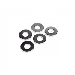 CHROME FLAT WASHERS 1/4 INCH