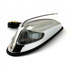 Clear lens antique style fender light