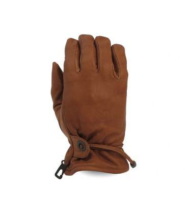 Longhorn gloves brown large