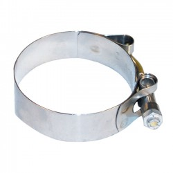 Intake clamps band style