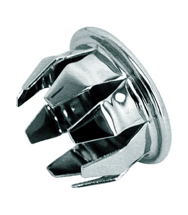 "Handlebar end plug 15/16"" chrome"
