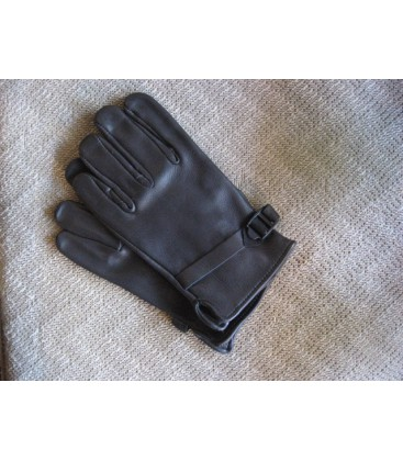 CANADIAN DEERSKIN GLOVES BLACK L