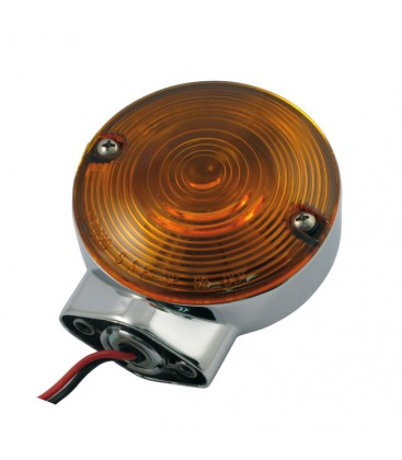 Front turn signal amber