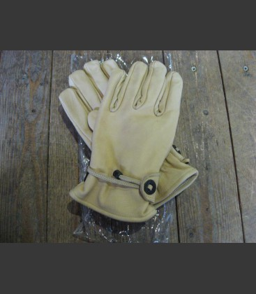 Gloves lightbrown large